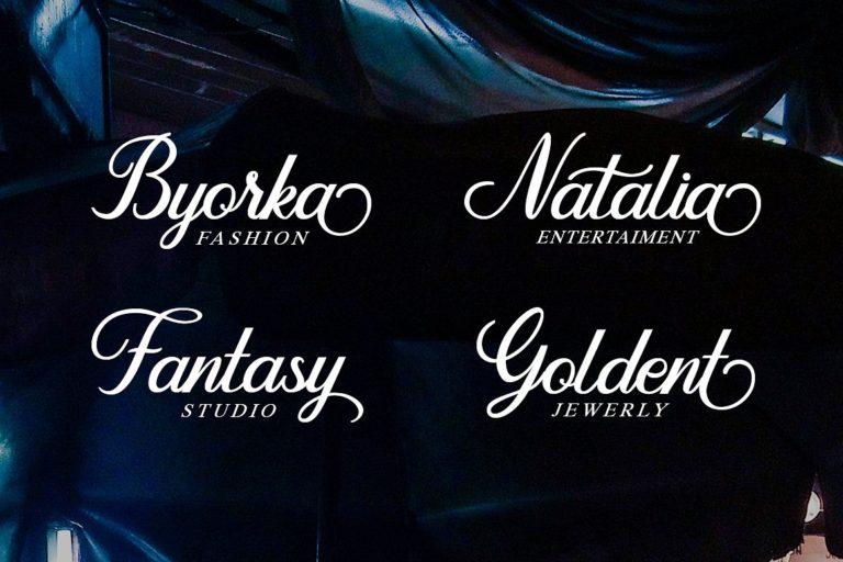 Download The Dandelion font (typeface)