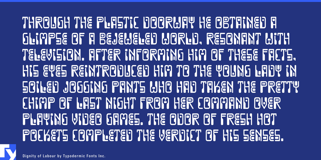 Download Dignity of Labour font (typeface)