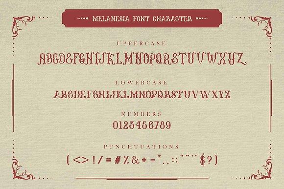 Download Melanesia font (typeface)