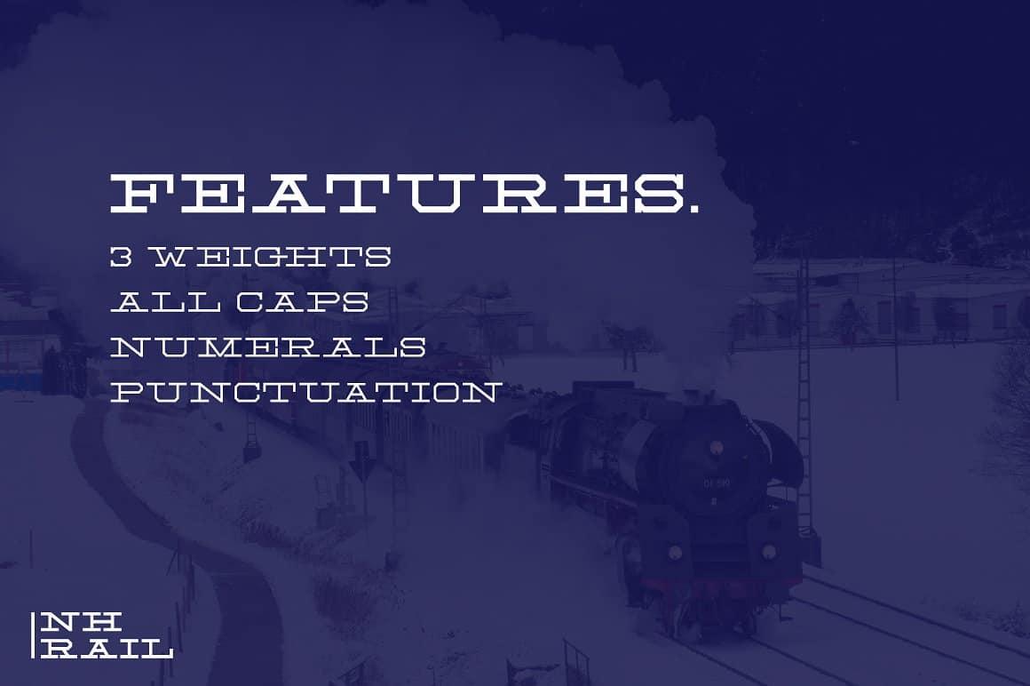 Download NH Rail font (typeface)