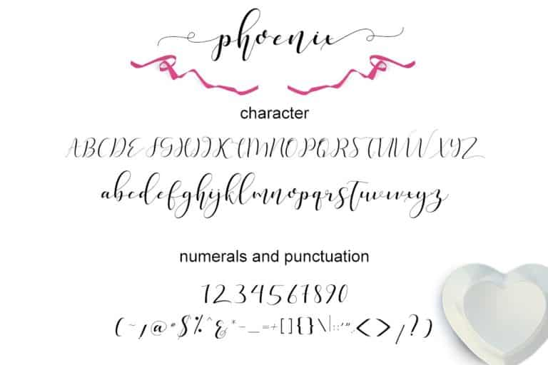 Download Phoenix font (typeface)
