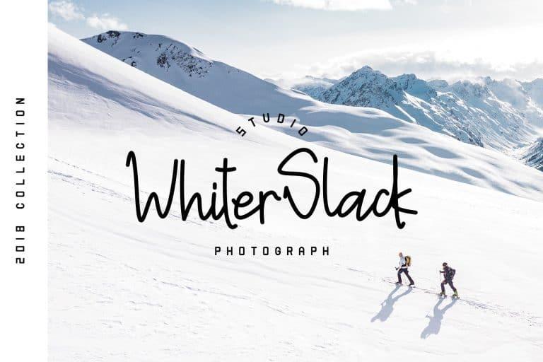 Download Snowman The Woppie font (typeface)