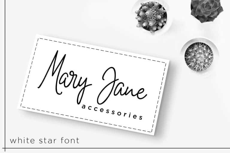 Download White Star font (typeface)