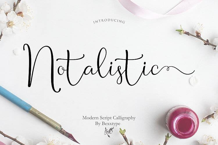 Download Notalistic font (typeface)