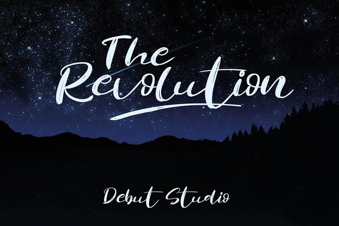 Download Revolution font (typeface)