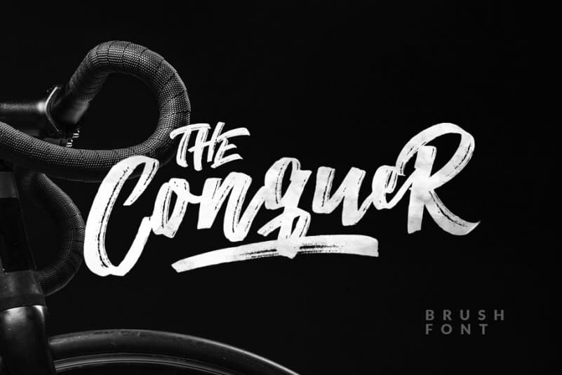 Download The Conquer font (typeface)