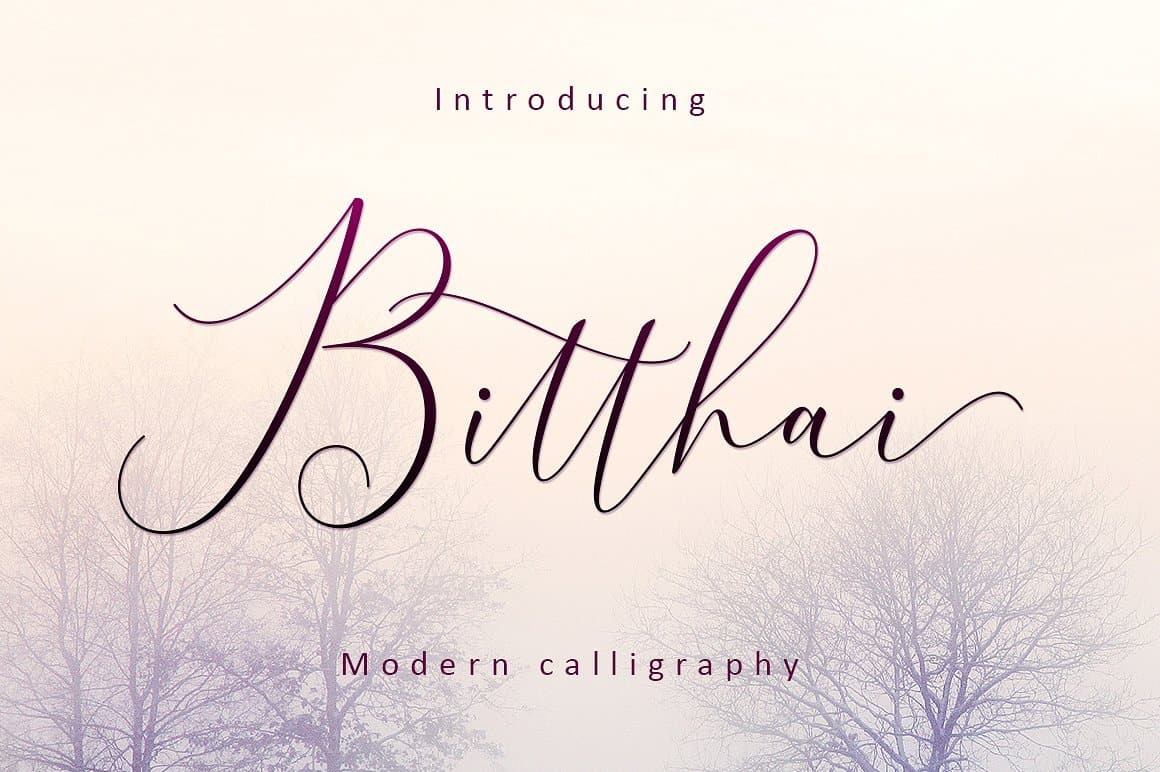 Download Bitthai font (typeface)