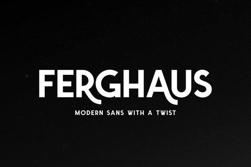 Download Ferghaus font (typeface)