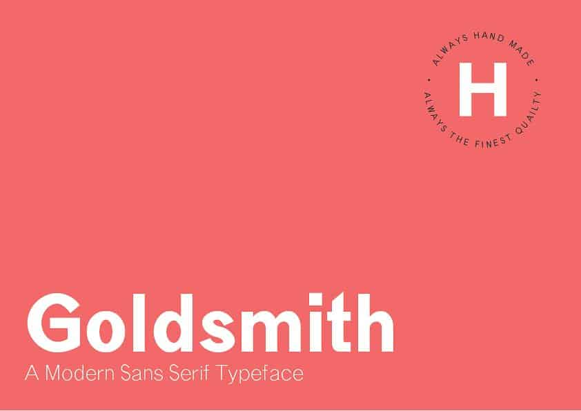 Download Goldsmith font (typeface)