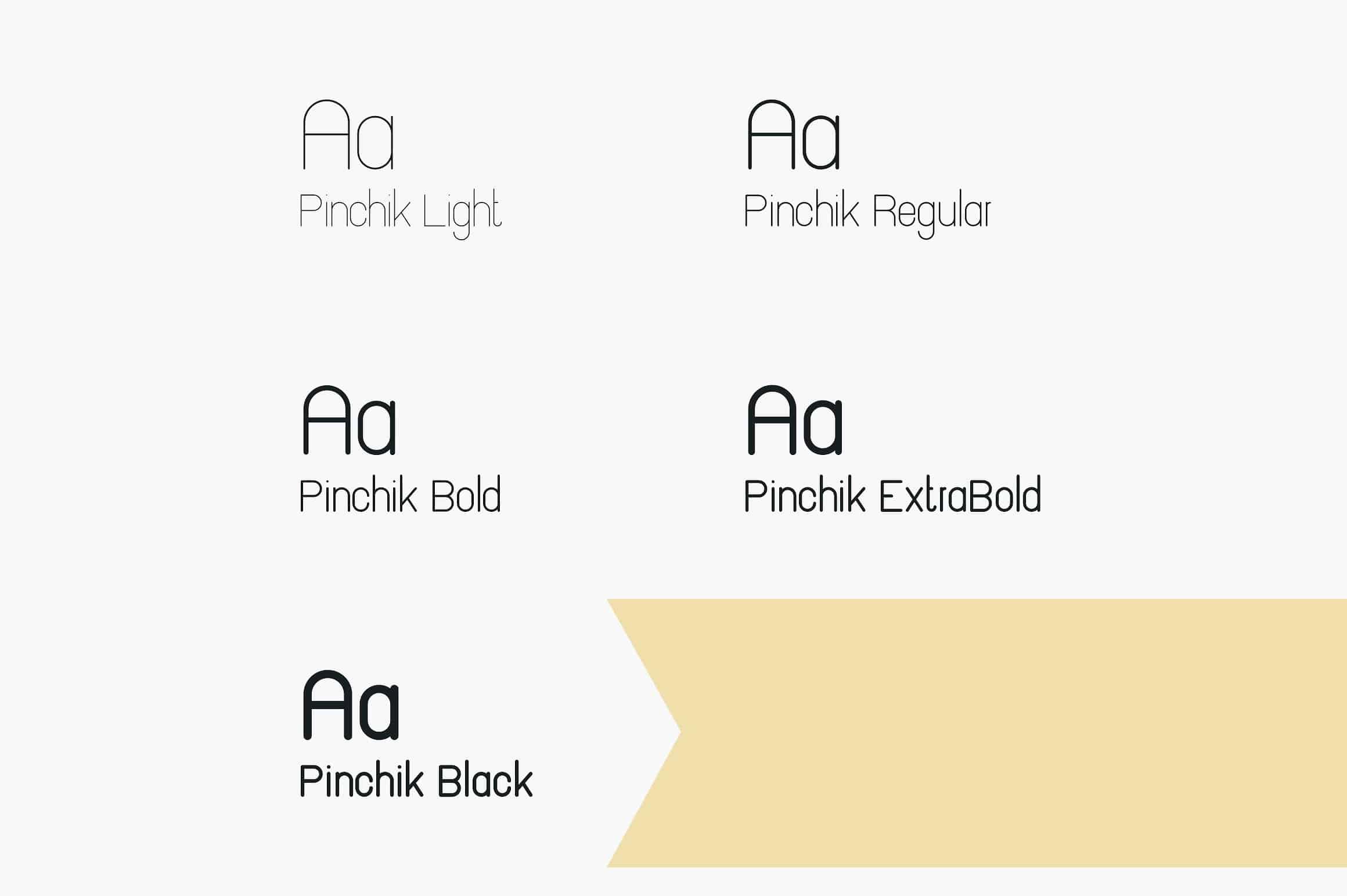 Download Pinchik font (typeface)