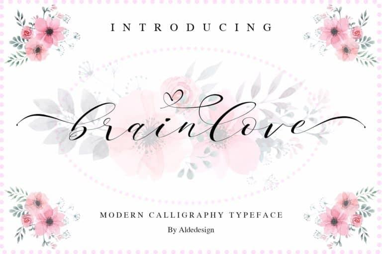 Download Brainlove font (typeface)