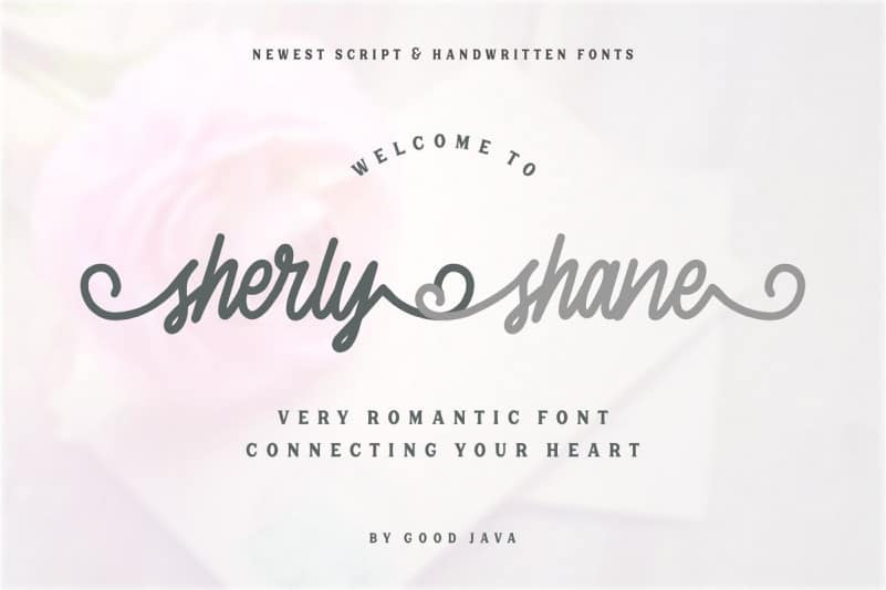 Download Sherly Shane font (typeface)