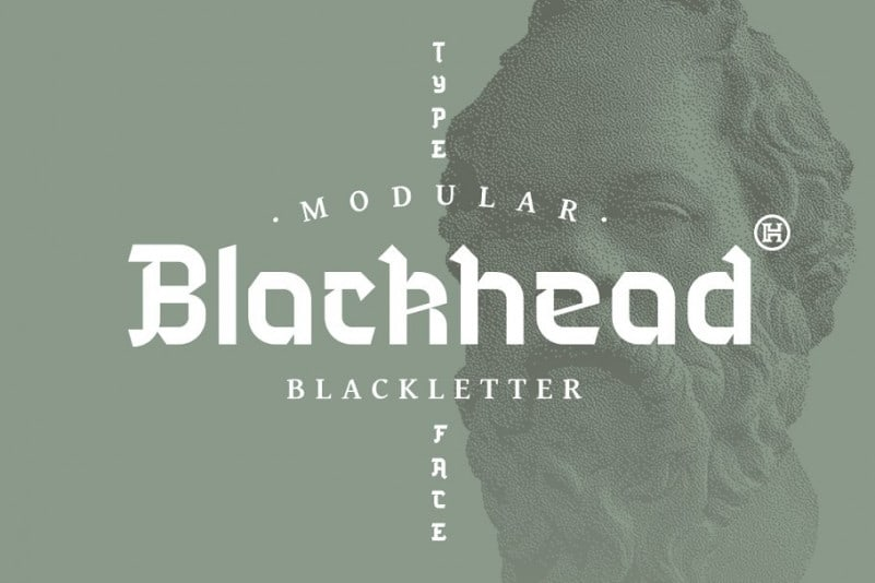 Download Blackhead font (typeface)