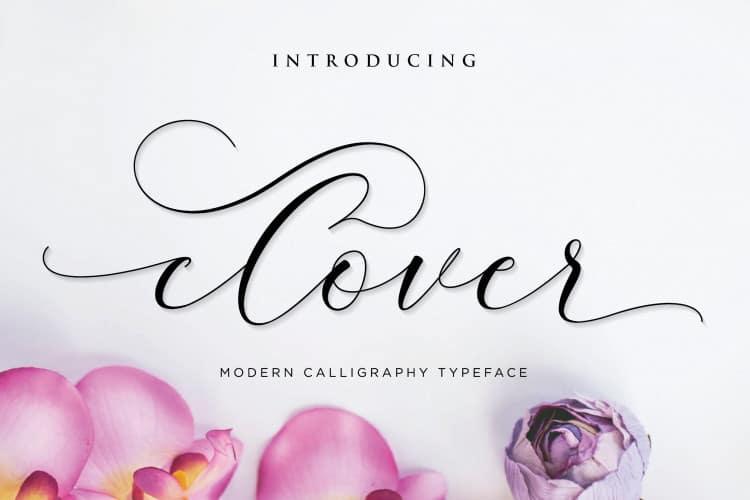 Download Clover font (typeface)