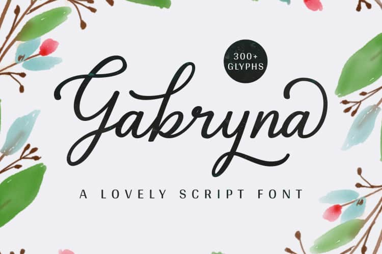 Download Gabryna font (typeface)