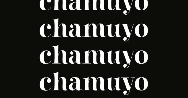 Download Chamuyo font (typeface)