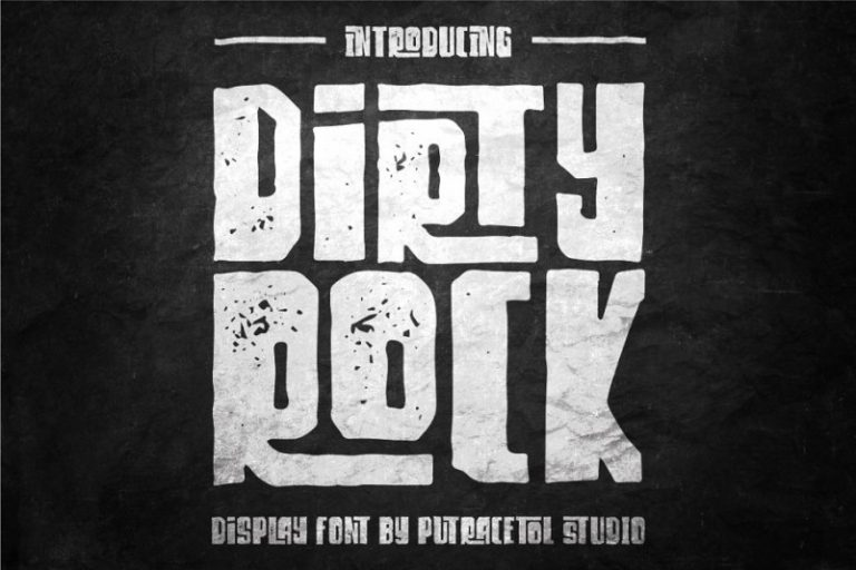 Download Dirty Rock font (typeface)