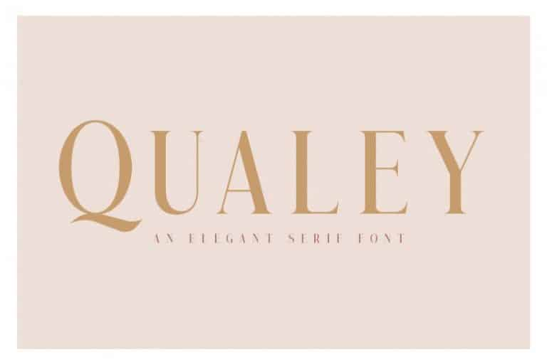 Download Qualey font (typeface)