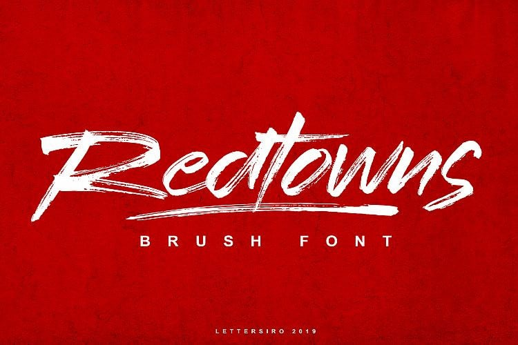 Download Redtowns font (typeface)