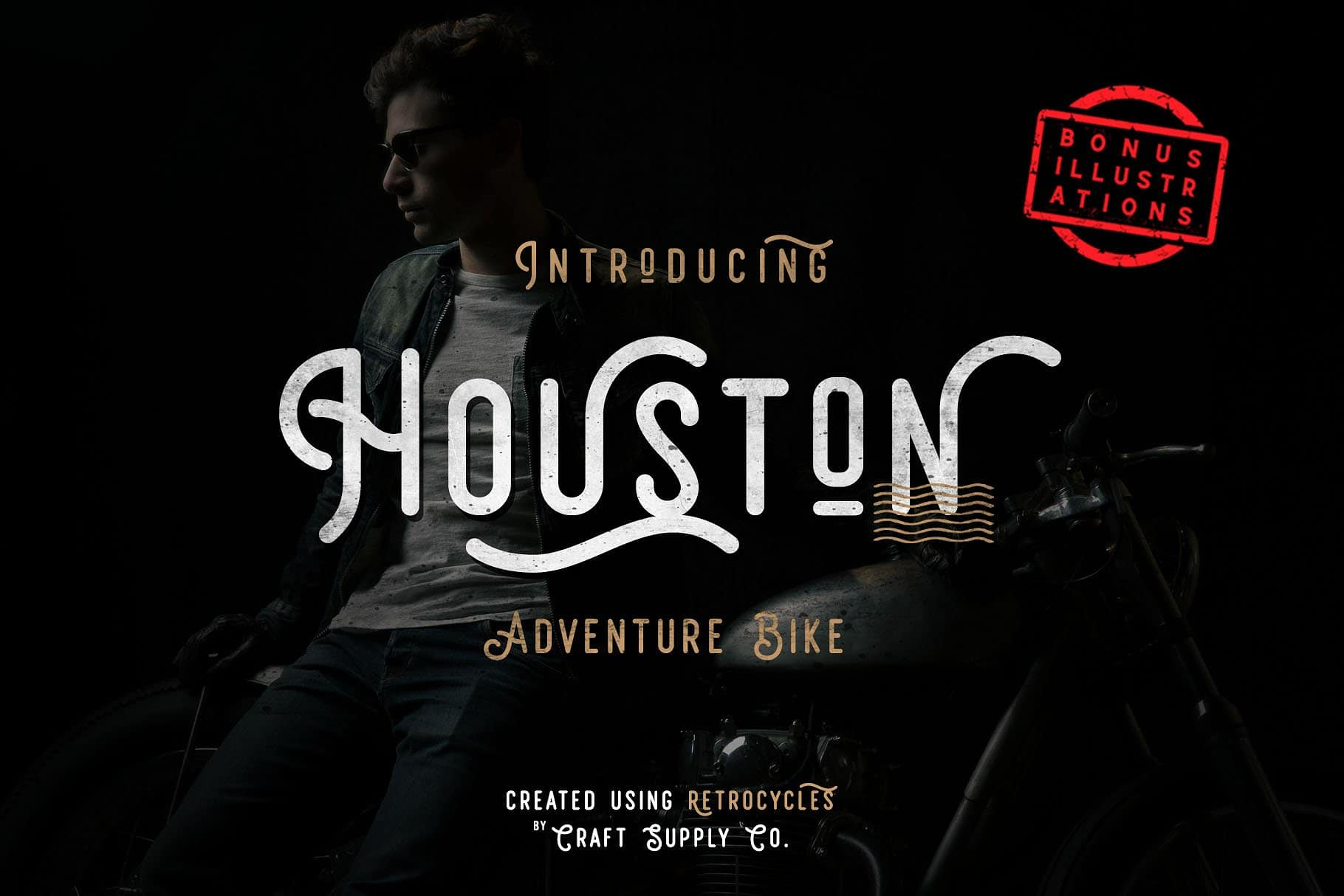 Download Retrocycles font (typeface)