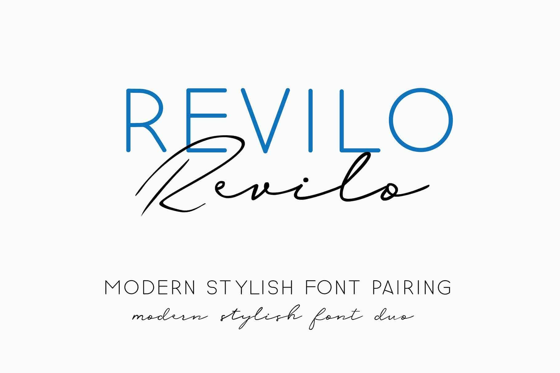 Download Revilo font (typeface)
