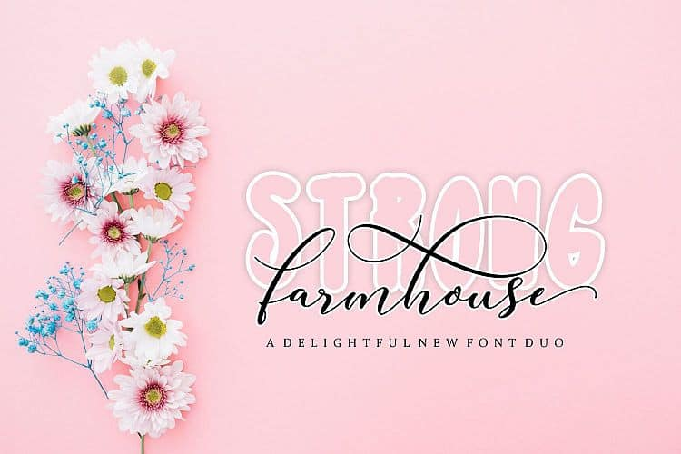 Download Strong Farmhouse font (typeface)