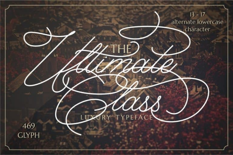 Download The Ultimate font (typeface)