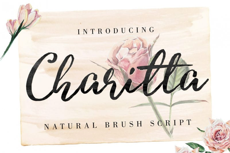 Download Charitta font (typeface)