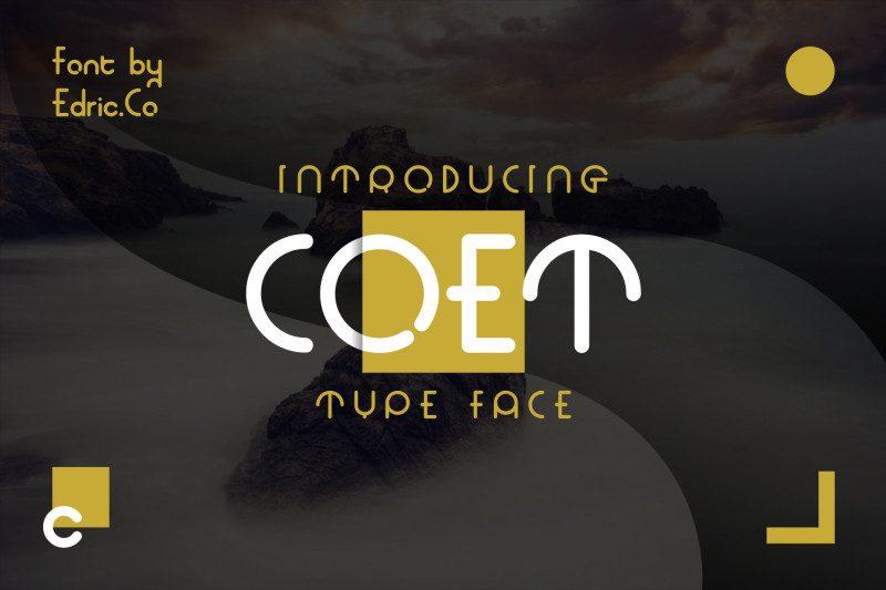Download Coet font (typeface)