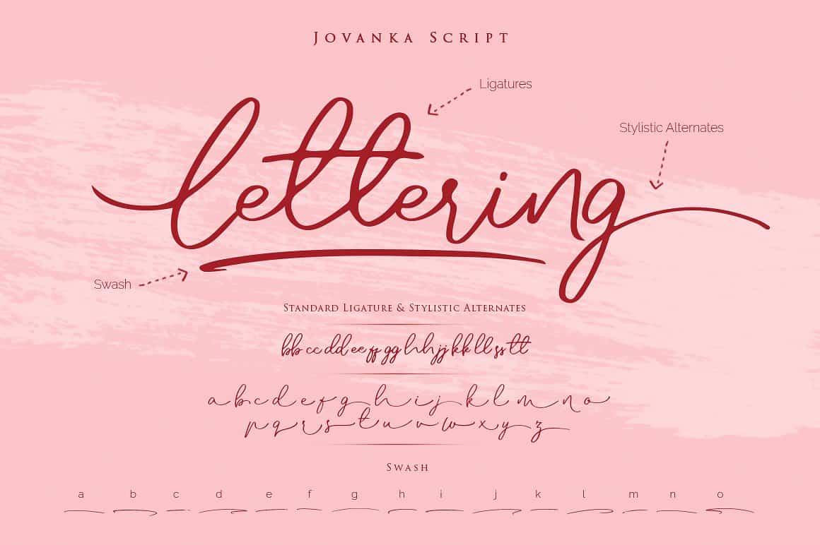 Download Jovanka font (typeface)