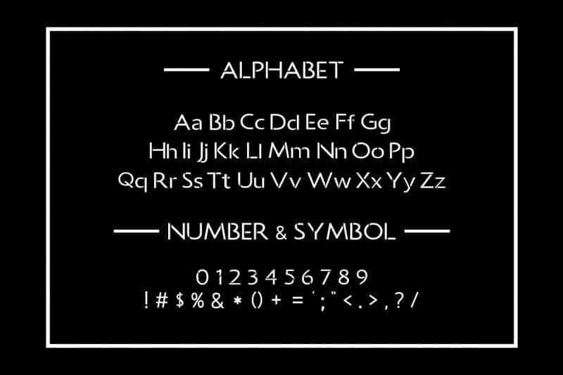 Download Allcan font (typeface)