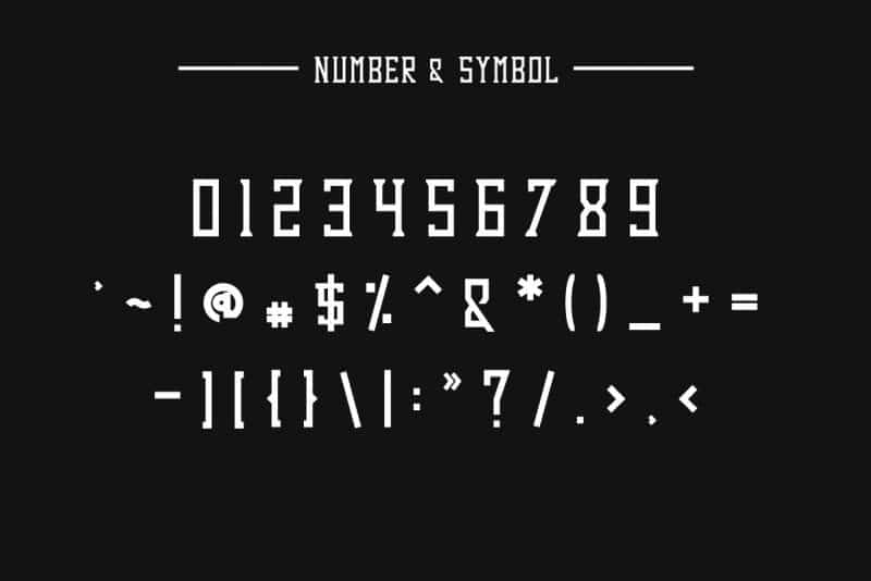 Download Dezert font (typeface)