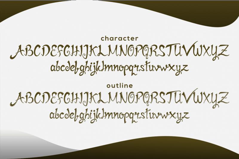 Download Mirinia font (typeface)