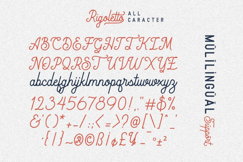 Download Rigoletto font (typeface)