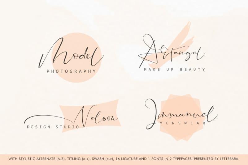 Download Santeria font (typeface)