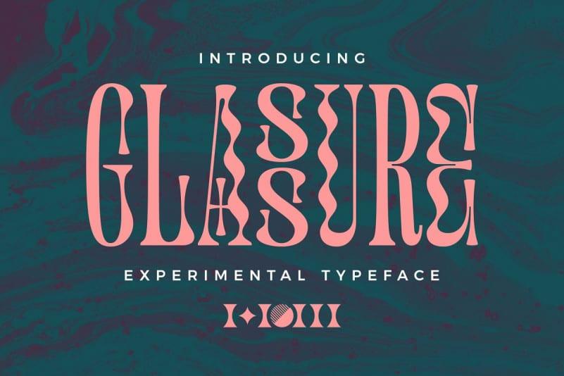 Download Glassure font (typeface)