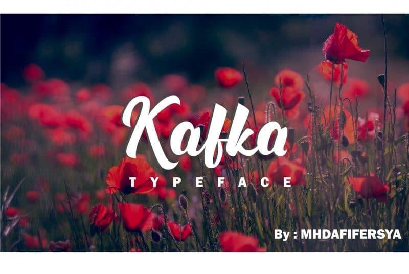 Font Kafka free download | Typeface
