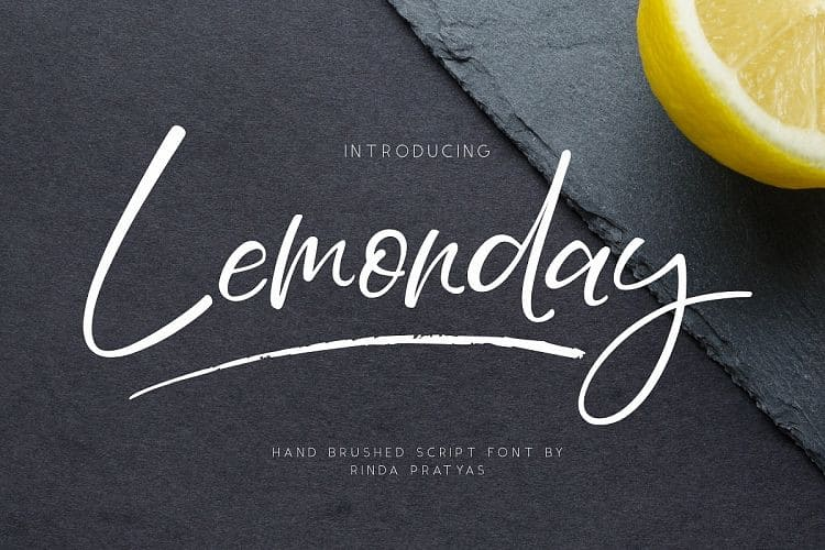 Download Lemonday font (typeface)