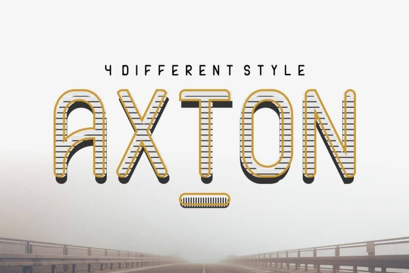 Download Axton font (typeface)