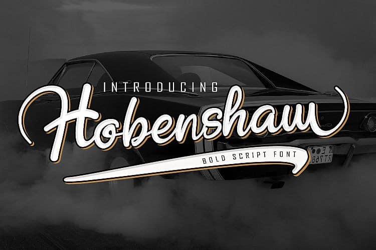 Download Hobenshaw font (typeface)