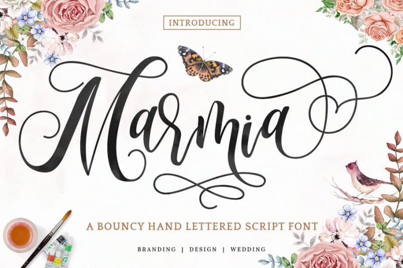 Download Marmia font (typeface)