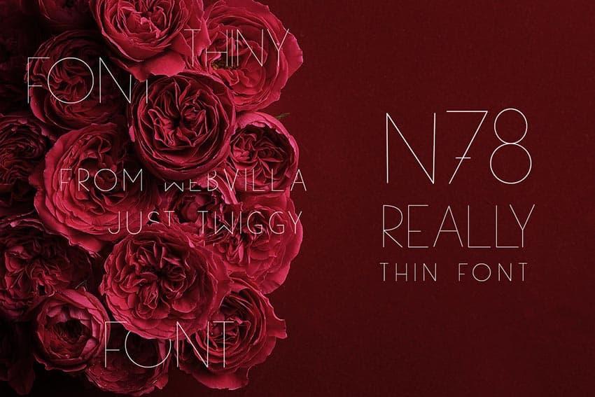 Download N78 font (typeface)