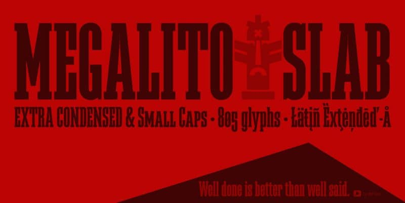 Download Megalito font (typeface)