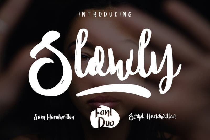 Download Slowly font (typeface)