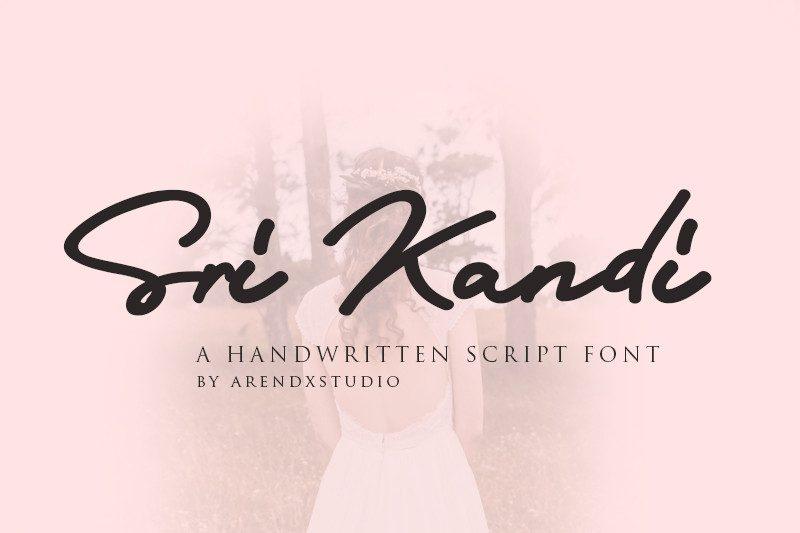Download Sri Kandi font (typeface)