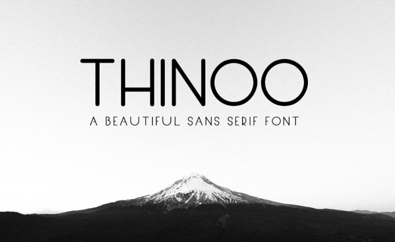 Download Thinoo font (typeface)