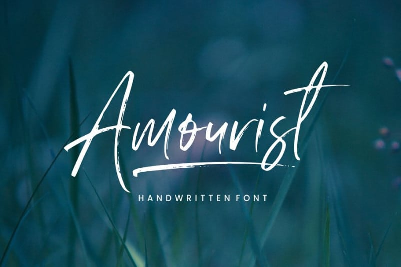 Download Amourist font (typeface)
