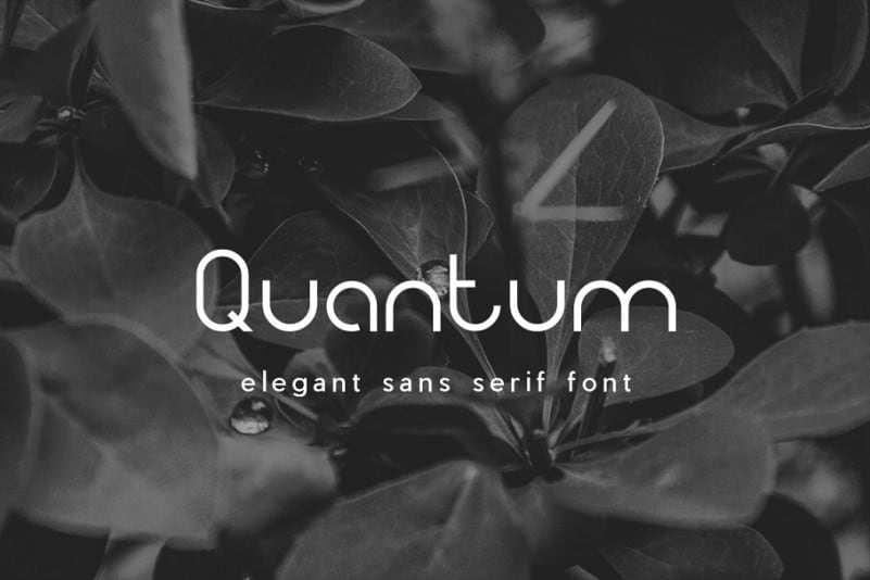 Download Quantum font (typeface)