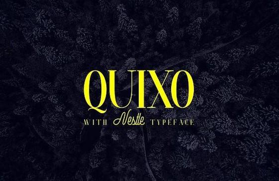 Download Quixo + Nestle font (typeface)