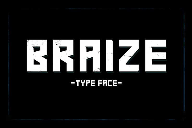 Download Braize font (typeface)